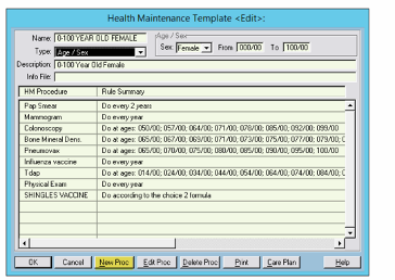 add pfizer covid-19 to practice partner health maintenance template