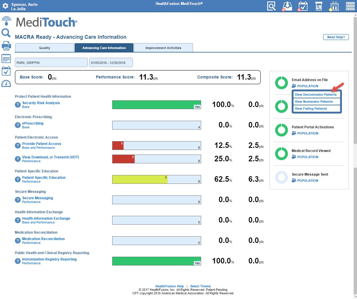 MACRA Advancing Care Scorecard Image