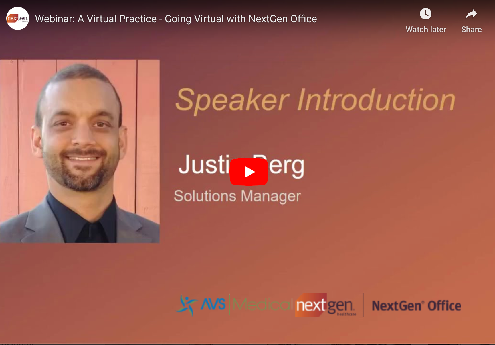 NextGen Office Cloud based EMR Product Manager takes you through the tools to power your virtual office